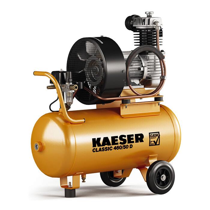 Серия Classic. Переносной поршневый компрессор KAESER CLASSIC 450 50D