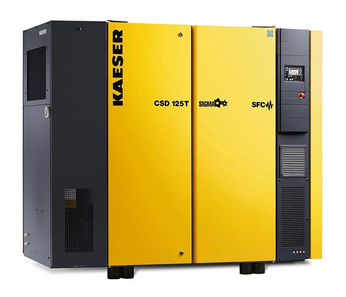 Винтовой компрессор KAESER CSD 125T