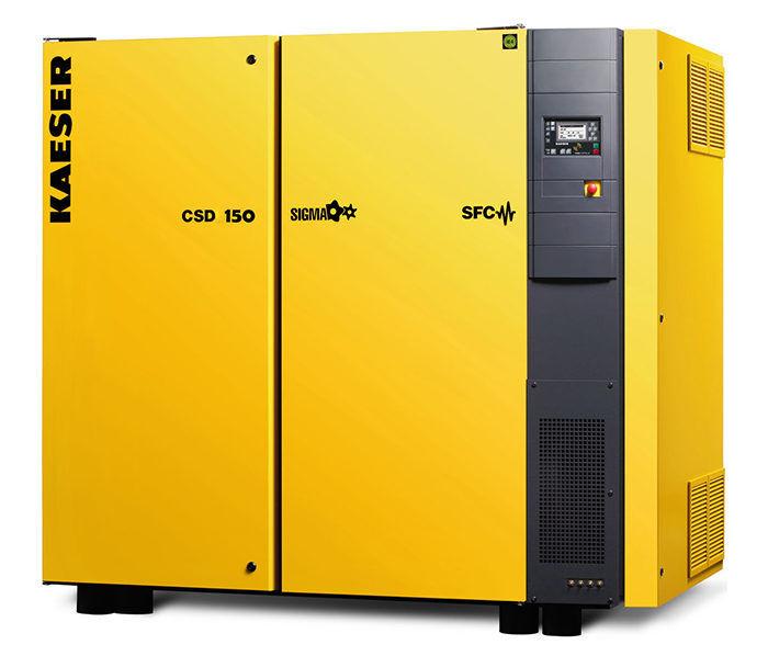 Винтовой компрессор KAESER CSD 150