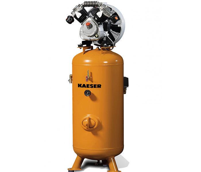 Серия EPC. Поршневый компрессор KAESER EPC с вертикальным ресивером