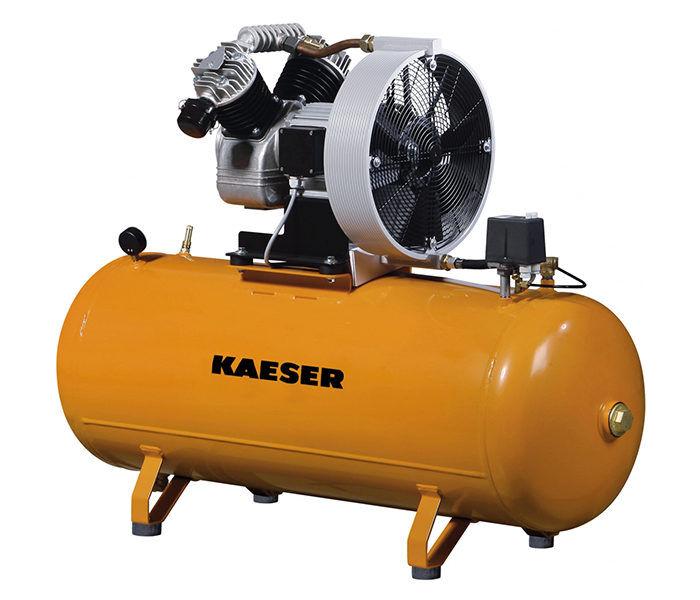 Серия EPC. Поршневый компрессор KAESER EPC с горизонтальным ресивером