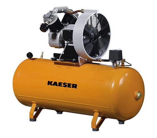 Поршневый компрессор KAESER EPC с горизонтальным ресивером