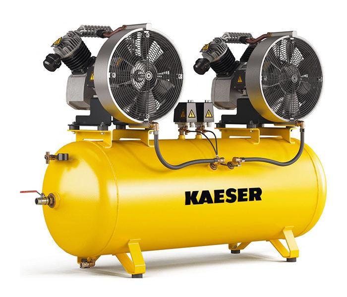 Серия KCD. Поршневый компрессор KAESER