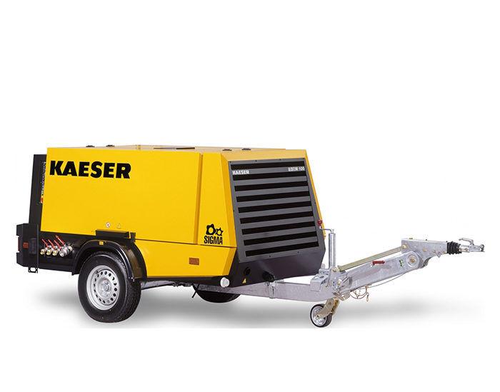 Передвижной компрессор KAESER M 100