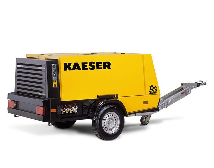 Передвижной компрессор KAESER M 100G
