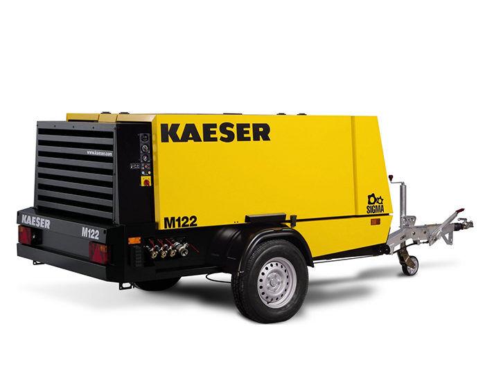 Передвижной компрессор KAESER M 122