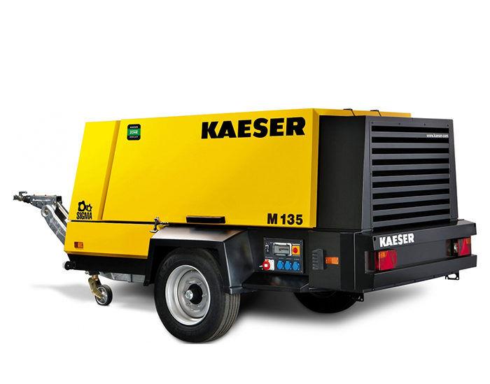 Передвижной компрессор KAESER M 135G