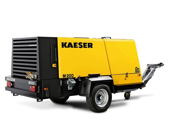 Передвижной компрессор KAESER M 200