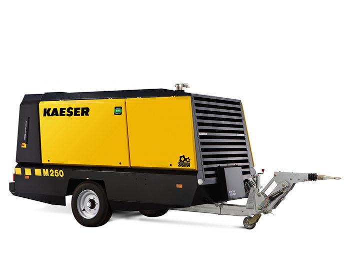 Передвижной компрессор KAESER M 250