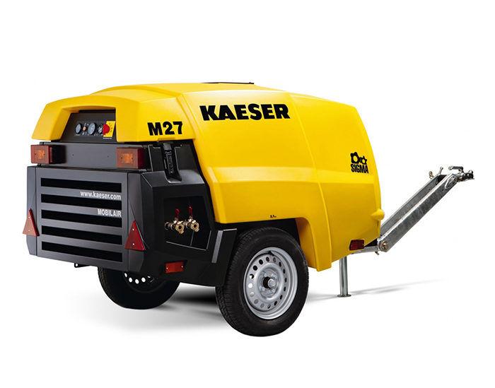 Передвижной компрессор KAESER M 27