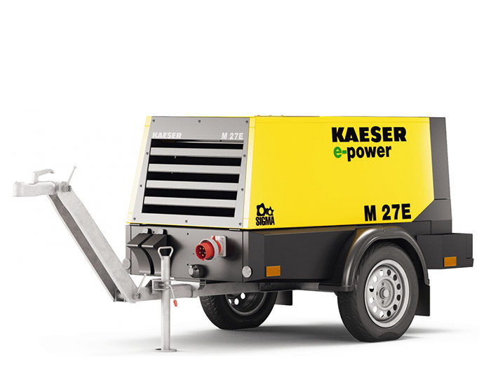 Передвижной компрессор KAESER M 27E