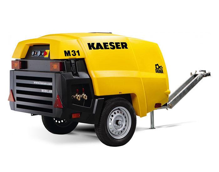 Передвижной компресс M 31ор KAESER M 31