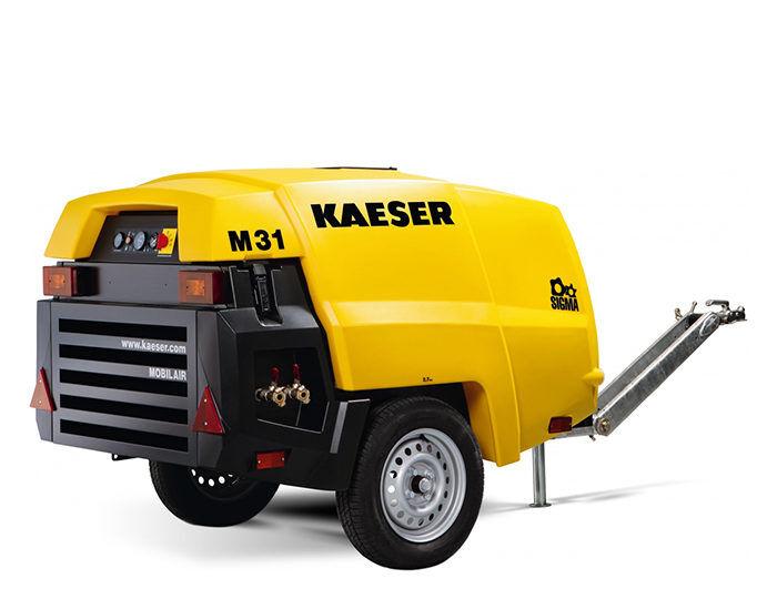 Передвижной компрессор KAESER M 31E