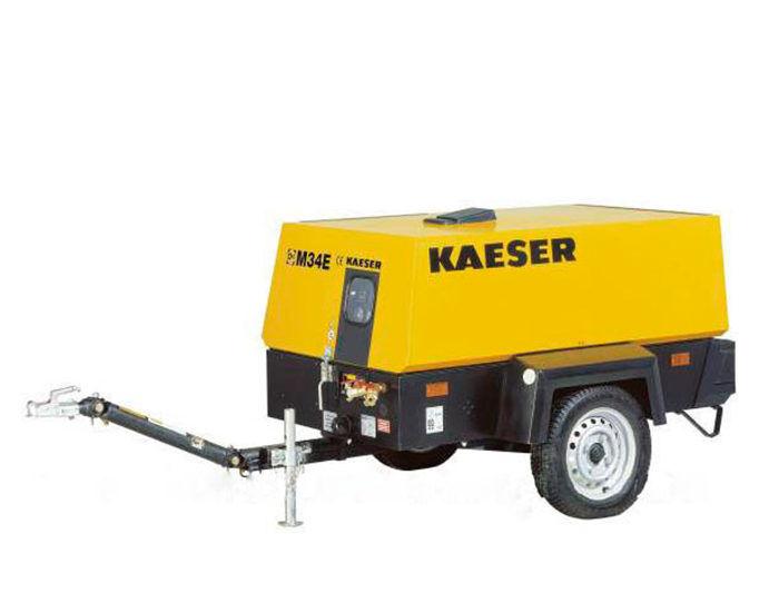 Передвижной компрессор KAESER M 34E