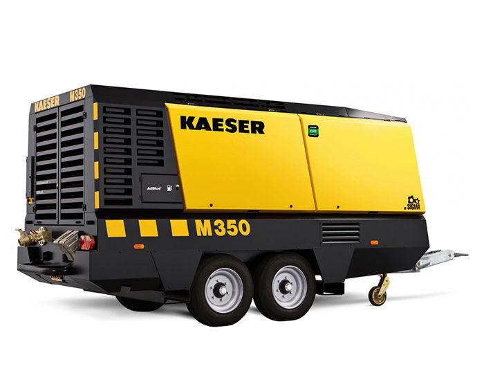 Передвижной компрессор KAESER M 350