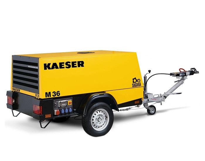 Передвижной компрессор KAESER M 36G