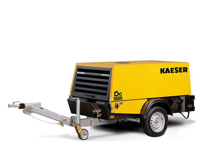 Передвижной компрессор KAESER M 45G