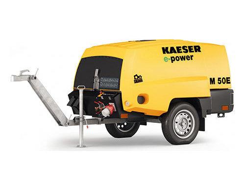 Передвижной компрессор KAESER M 50E