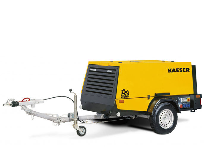 Передвижной компрессор KAESER M 52G