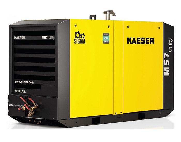 Передвижной компрессор KAESER M 57 Utility