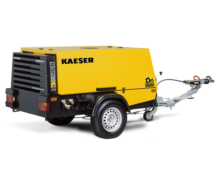 Передвижной компрессор KAESER M 57