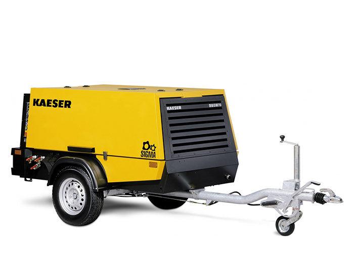 Передвижной компрессор KAESER M 70