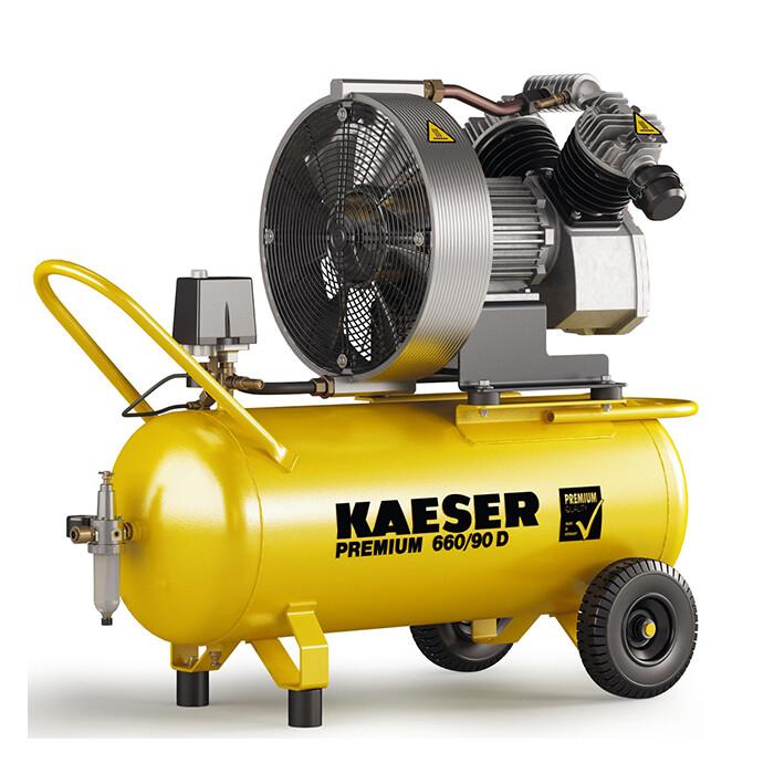 Серия Premium. Переносной поршневый компрессор KAESER PREMIUM 660 90D